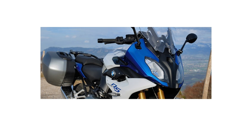 New BMW R1200RS : Sport and travel