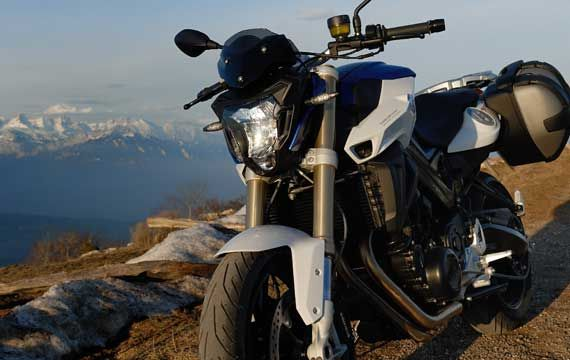 BMW Motorcycle hire F800R
